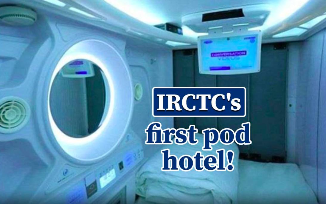 IRCTC First Pod