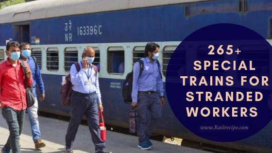 265+ Special Trains for Stranded Workers